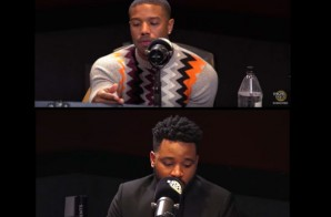 "Michael B. Jordan & Ryan Coogler Discuss ""Black Panther"" Movie & More w/ Ebro in the Morning (Video)"