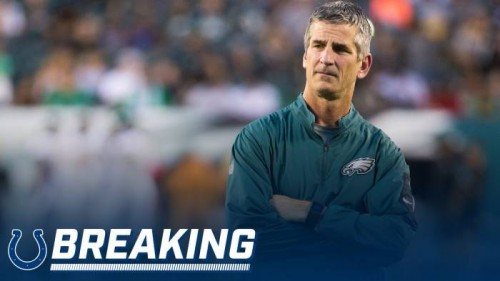 DVyVdKwVQAAi29C-500x281 Former Eagles OC Frank Reich has Agreed to a 5-year Deal To Be The Head Coach of the Indianapolis Colts.