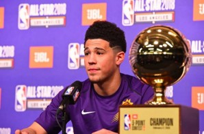 Phoenix Suns (G) Devin Booker Sets a New #JBL3PT record & Wins the 2018 #JBL3PT Contest (Video)