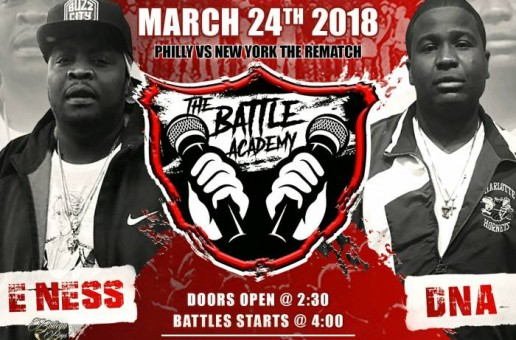 The Battle Academy Presents: E.Ness Vs. DNA (Ticket Link)