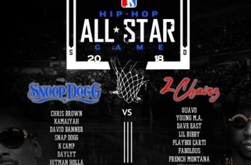 2 Chainz & Snoop Dogg Announce The 2018 Hip Hop All-Star Basketball Team Rosters