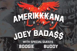 Joey Bada$$ Announces The Amerikkkana Tour Dates!