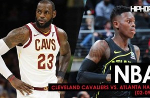 Kyle Korver Goes Back To The Future, LeBron's Triple-Double Leads The Cavs: Cleveland Cavaliers vs. Atlanta Hawks (2-9-18) (Recap)