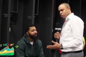 "Just Kickin' It: Washington Wizards star Markieff Morris Talks Custom ""Free Meek Mill"" Foamposites, His Pregame Playlist, Super Bowl 52, Dez Bryant & More (Episode 2) (Video)"