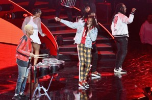 N.E.R.D. & Migos Perform At NBA All-Star Halftime Show (Video)