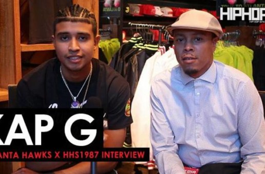 "Kap G Talks 'Big Mood"", the Atlanta Hawks, Pharrell, The Eagles Winning The Super Bowl & More (Video)"