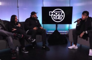 Nicky Jam Reveals News On English Album + Working With Tory Lanez on Hot 97's Ebro in the Morning