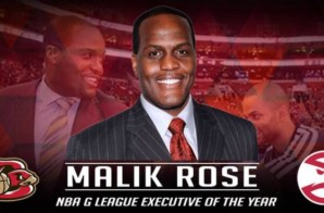 Philly's/ Erie Bayhawks Own Malik Rose Named NBA G League Basketball Executive of the Year