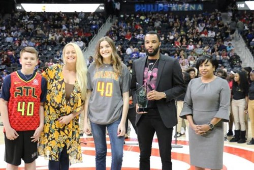 unnamed-19-500x334 Well Deserved: Atlanta Hawks Guard Malcolm Delaney Awarded the Jason Collier Memorial Trophy