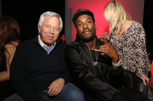New England Patriots Owner Robert Kraft & 76ers Owner Michael Rubin Visit Meek Mill in Prison