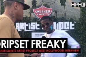 "Lil Freaky Talks 'DripSet Reloaded', His Record ""DripSet"" ft. Future, the Cannabis Community in Hip-Hop & More w/ Terrell Thomas (Video)"
