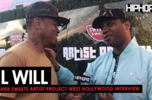 Lil Will Talks Working With Drumma Boy, New Music, Plans for 2018 & More w/ Terrell Thomas (Video)
