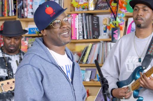 NPR Plays Host to the Legendary O.C. for His Jazz Infused Tiny Desk Concert