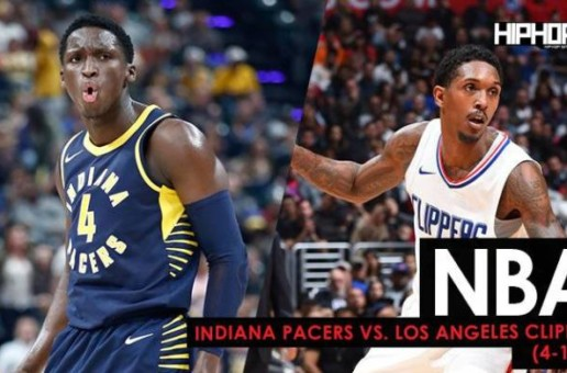 NBA: Indiana Pacers vs. Los Angeles Clippers (4-1-18) (Recap)