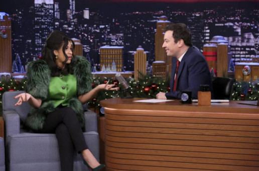Jimmy Wants To Party With Cardi: Cardi B Is Set to Co-Host 'THE TONIGHT SHOW' with Jimmy Fallon