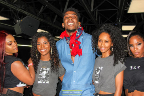 Desiigner-models-500x334 Is Brooklyn In The House: Desiigner Celebrates His New Project 'LOD' at World on Wheels in Los Angeles (Photos)