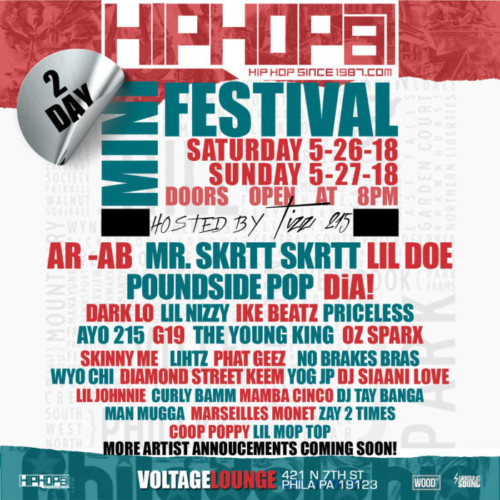 IMG_0677-500x500 HipHopSince1987's First Annual Two Day Mini-Festival Invades Philly Memorial Day Weekend!