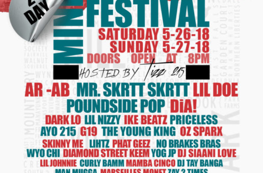 HipHopSince1987's First Annual Two Day Mini-Festival Invades Philly Memorial Day Weekend!