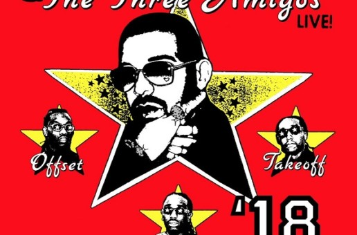 Drake & Migos Announce 'Aubrey & The Three Amigos' Tour