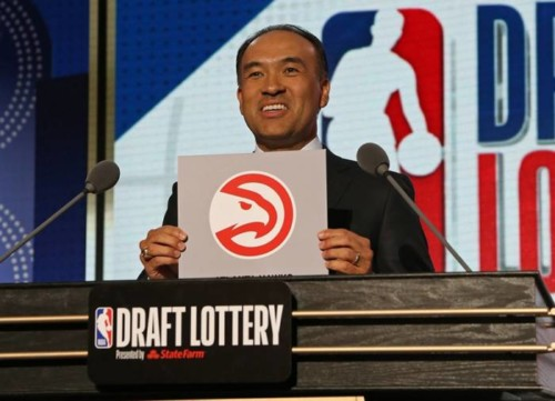hawks-draft-500x361 3rd Times a Charm: The Atlanta Hawks Move Up to Third in NBA Draft Lottery