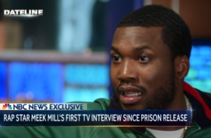 Meek Mill Post Prison Interview on NBC Nightly News (Video)