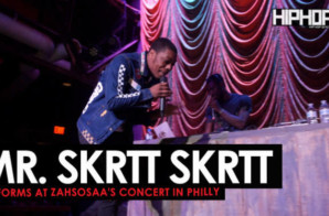 Mr. Skrtt Skrtt Performance (Zahsosaa & Gang Concert)