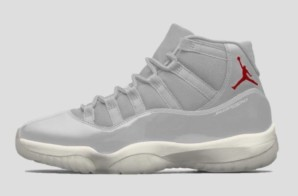 "Air Jordan 11 ""Platinum Tint"" Set To Hit Stores This Fall (Photos)"