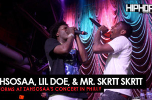 "Zahsosaa, Mr. Skrtt Skrtt, & Lil Doe Perform ""Proud"" (Zahsosaa & Gang Concert)"