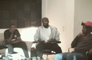 "Kanye West Shares Behind The Scenes Footage of How ""Ye vs. The People"" Came Together (Video)"