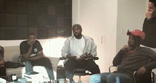 "unnamed-1-500x268 Kanye West Shares Behind The Scenes Footage of How ""Ye vs. The People"" Came Together (Video)"