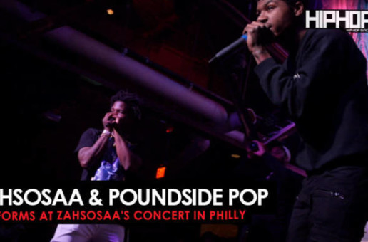 Poundside Pop & Zahsosaa Performance  (Zahsosaa & Gang Concert)
