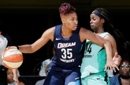 Heavenly Dreams: Atlanta Dream Star Angel McCoughtry Named The WNBA Player of the Week (June 18-24)