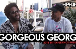 "Gorgeous George Talks Working With Scarface. Houston's Music Scene, His Single ""WaterMellon JollyRancher"" & More at the 2018 BET Experience (Video)"
