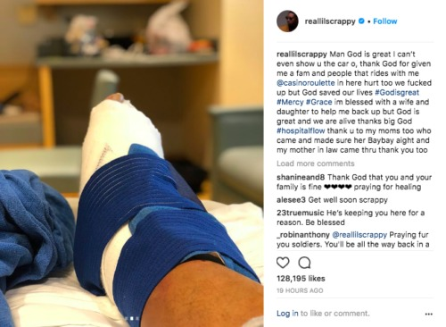 Screen-Shot-2018-06-05-at-12.39.31-PM-500x366 Lil Scrappy Seriously Injured In Car Crash!
