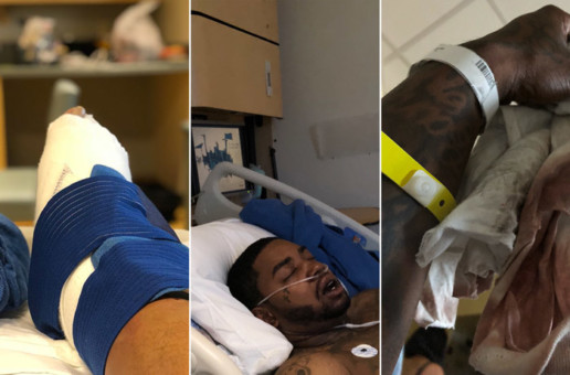 Lil Scrappy Seriously Injured In Car Crash!