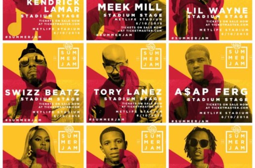 "Hot97 Presents ""Summer Jam 25"" 2018 on June 10th at Met Life Stadium!!"