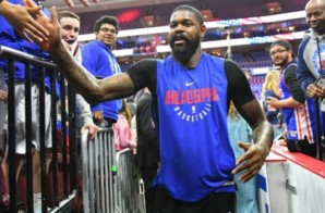 The Philadelphia 76ers Have Re-Signed Amir Johnson
