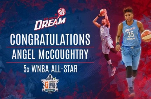 Atlanta Dream Star Angel McCoughtry Selected To The 2018 WNBA All-Star Team