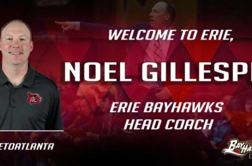 Birds Flyin' High: Noel Gillespie Named The Erie BayHawks New Head Coach