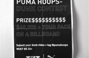Puma Hoops x The Basketball Tournament Are Looking For the Best Dunkers For a Chance To Win 40,000