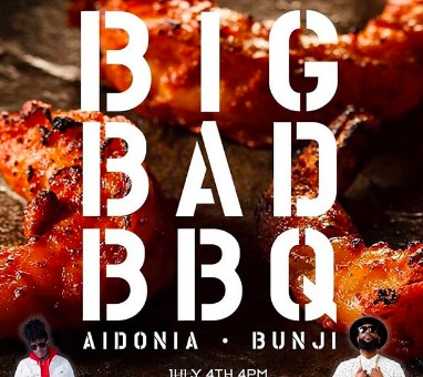 Aidonia & Bunji Garlin Brought The Heat At The Big Bad BBQ in Brooklyn!