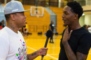 Lou Williams Talks Winning The NBA 6th Man Award, His Upcoming Album, Being The Best Rapper/Athlete, Creating His Signature PEAK Sneakers & More (Video)