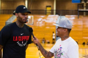 Mike Scott Talks Joining the Clippers, Lou Williams, His Top Hip-Hop Tracks, Favorite Kicks & More (Video)