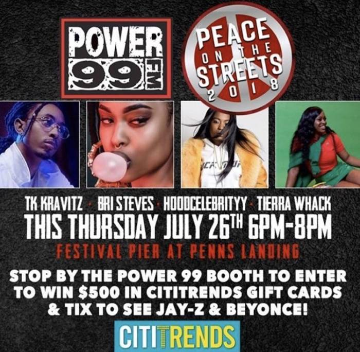 "pp1 #HHS87 EXCLUSIVE ! Power 99FM Philly ""Peace in the Streets Concert"" Recap !"