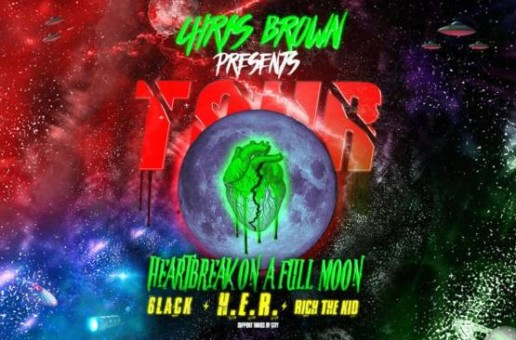 Behind the Scenes of Chris Brown's 'Heartbreak On A Full Moon Tour' (Video)