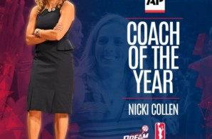 Dreamed & Achieved:  Atlanta Dream Head Coach Nicki Collen Named AP Coach of the Year