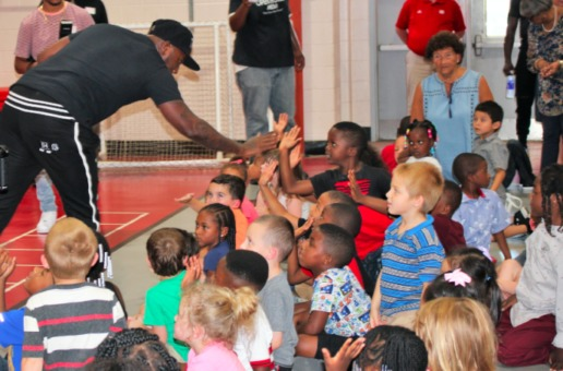 Jeezy & His Street Dreamz Foundation Donate iPads & More to Hometown School