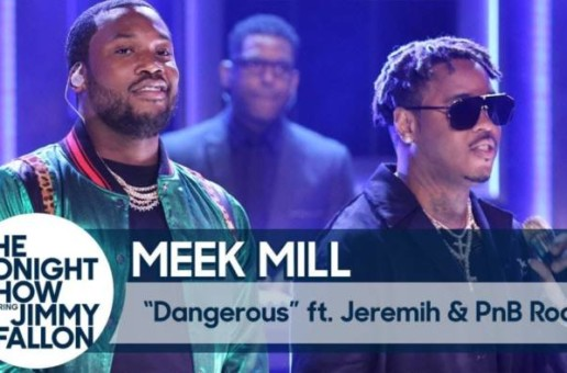 Meek Mill – Tonight Show Interview and Performance