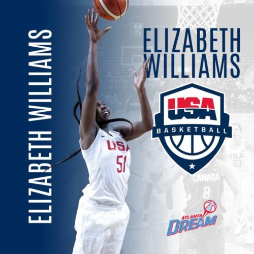 Dm1dV9yVAAAlMPy-500x500 Living The Dream: Atlanta Dream Star Elizabeth Williams Named Finalist to 2018 USA Basketball Women's World Cup Team