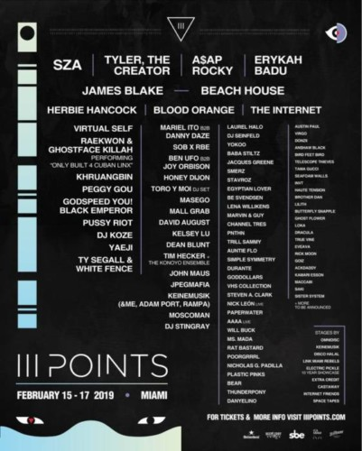 Dn9K0UzUcAMIvbZ-401x500 SZA, A$AP Rocky, Tyler The Creator & More to Headline III Points Festival!
